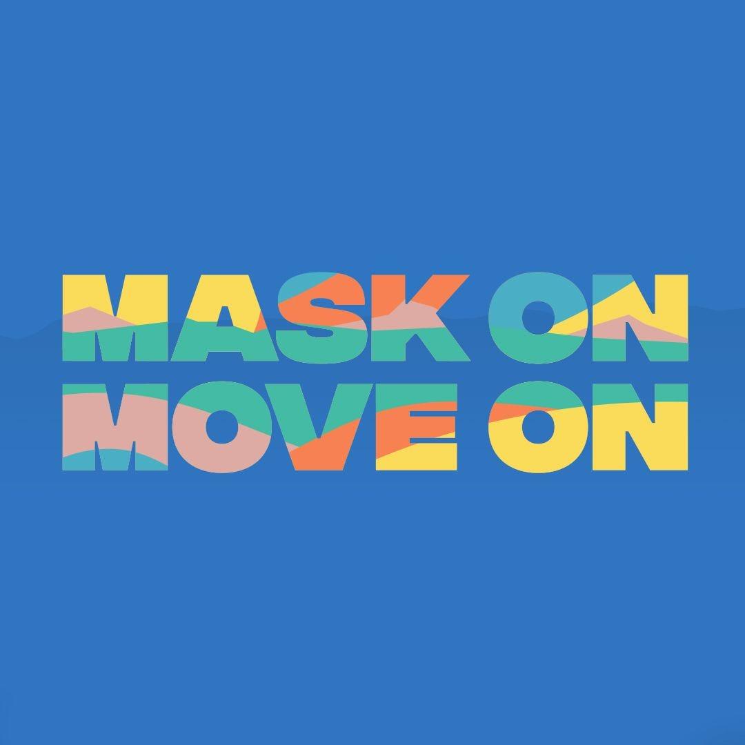 Mask On Move On Logo
