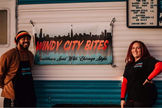 DaShawn and Samantha Lewis, both 33, started the Windy City Bites food truck to bring Chicago-style foods from their hometown to Sioux Falls.