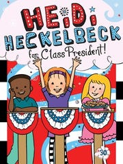 """""""Heidi Heckelbeck for Class President"""" by Wanda Coven, illustrated byPriscilla Burris"""