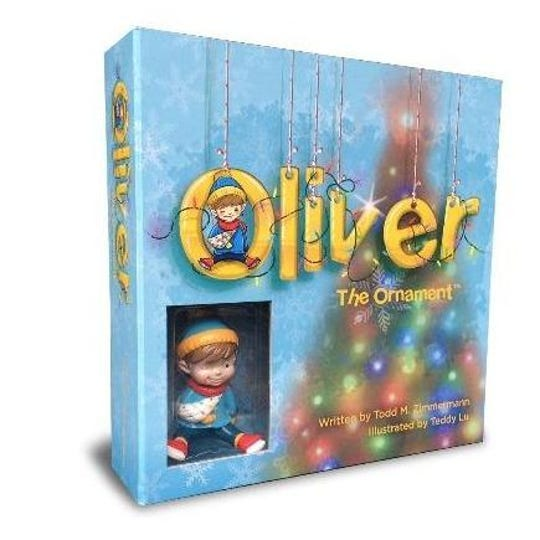 """The """"Oliver the Ornament"""" series by Todd Zimmerman, illustrated by Kyle Hernandez"""