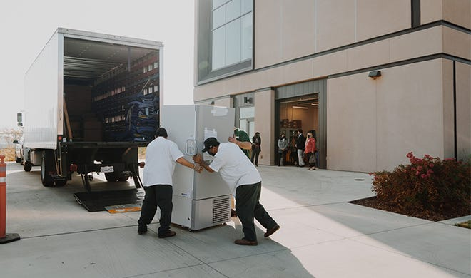 Fresno State loaned a low-temp freezer to frontline workers at Community Medical Centers.