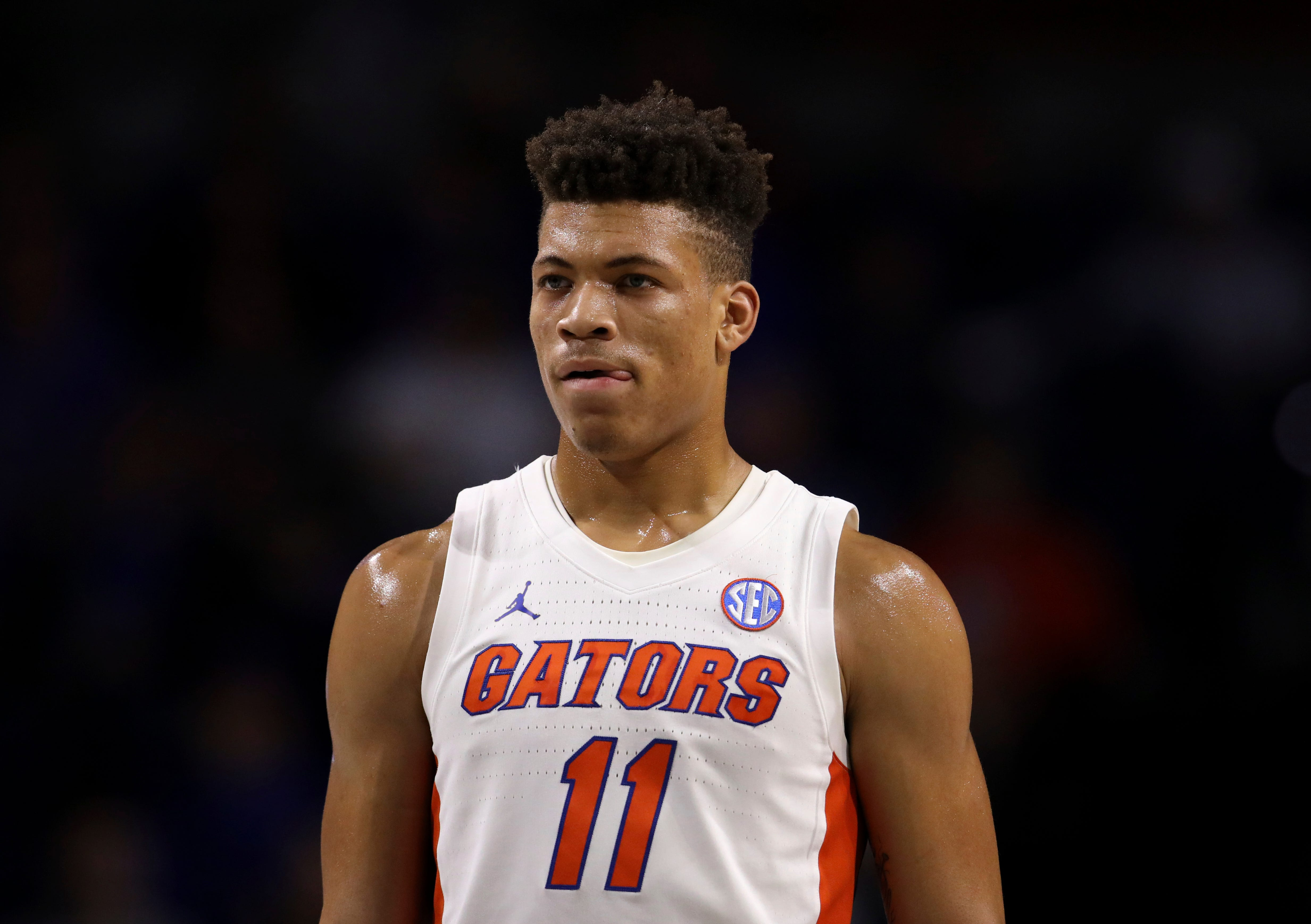 Florida's Keyontae Johnson 'following simple commands' after coma