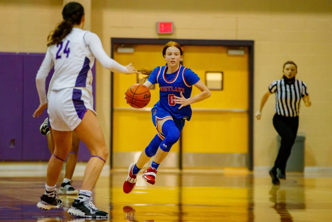 Westlake's Peyton Freiermuth, a sophomore guard, poured in 20 points against San Marcos and recorded 15 points against Bowie as the Chaps took two wins in District 26-6A last week.