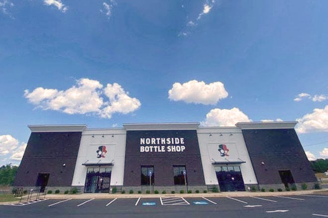 Northside Bottle Shop located at 950 US-29 in Athens, Ga.