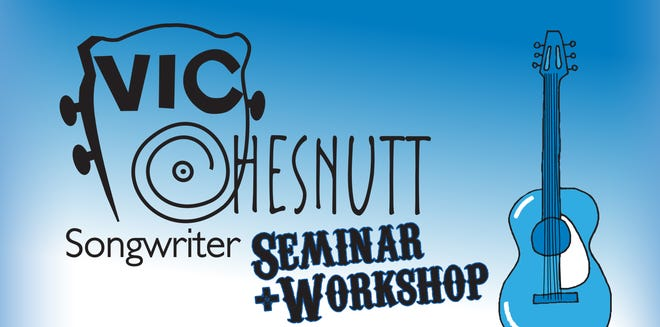 Poster art for the 2021 Vic Chesnutt songwriter seminar and workshop.