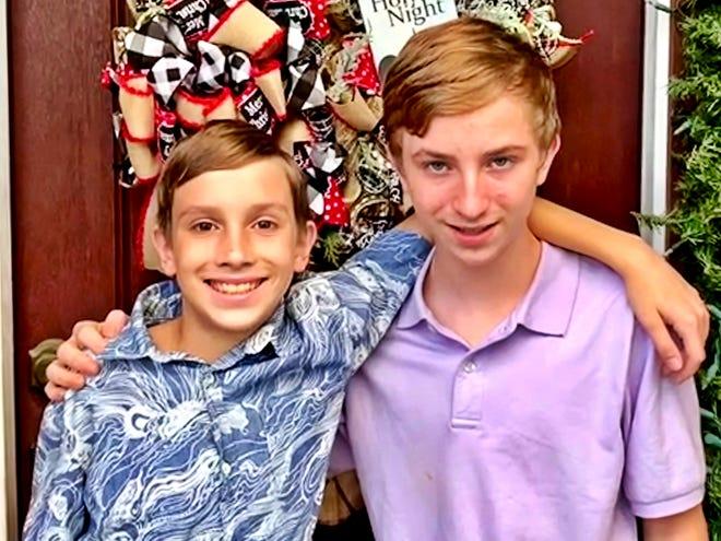 Seph and Luke are brothers seeking adoption.