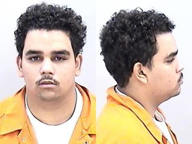 Tycen Collins was arrested for punching a disabled patient in the face.