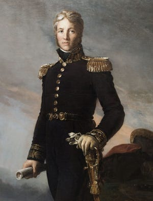 French Gen. Jean Victor Marie Moreau who lived in exile in Morrisville.