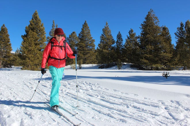 The increasingly popular sport of cross-country skiing is attractive because it's inexpensive, safe and convenient.