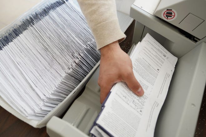 More than 3.1 million people in Pennsylvania applied to vote by mail in November, and the state's 67 counties processed every request, according to the Department of State. That means a mail ballot should have been sent or delivered to all voters who applied.