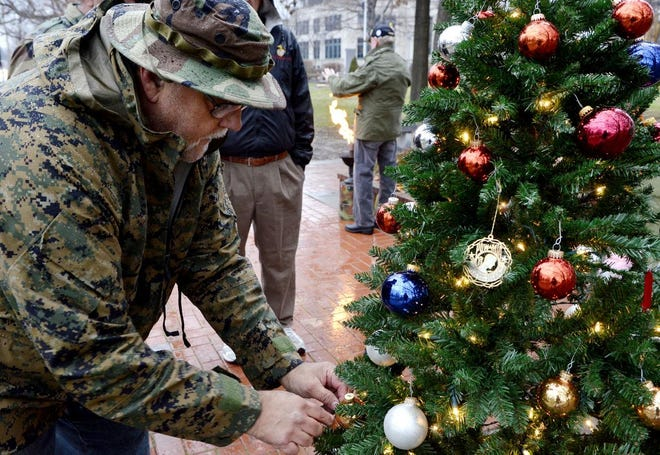 Vietnam veterans will hold their annual Christmas Eve vigil for lost comrades at the Vietnam War Memorial in Beaver.