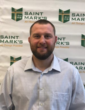 Saint Mark's High School recently named John Staudenmayer head wrestling coach.