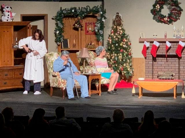 "There are only three performances left of the bittersweet comedy, ""Making God Laugh"" at the Living Drama Theatre in Eustis."