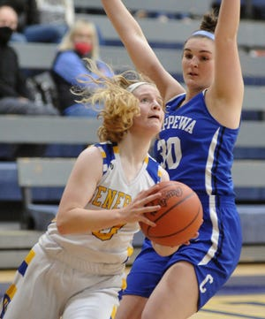 Wooster's Nora Levy is the only area player in top three of points per game and assists per game as the regular season nears its end.