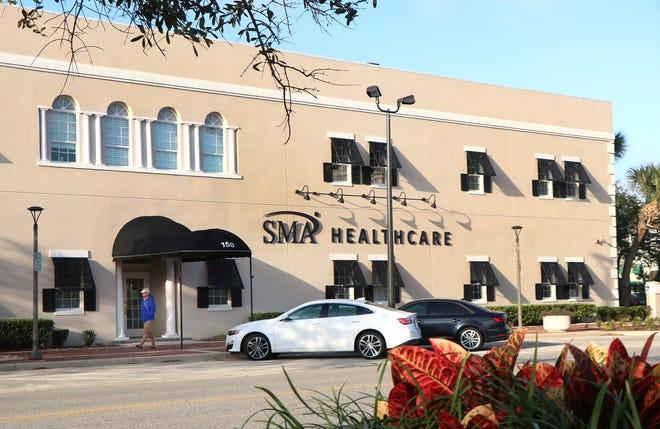SMA Healthcare at 150 Magnolia Avenue in Daytona Beach, Tuesday December 15, 2020.