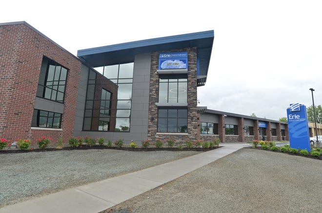 The headquarters of Erie Federal Credit Union, 3503 Peach St., is shown in this 2017 file photo.