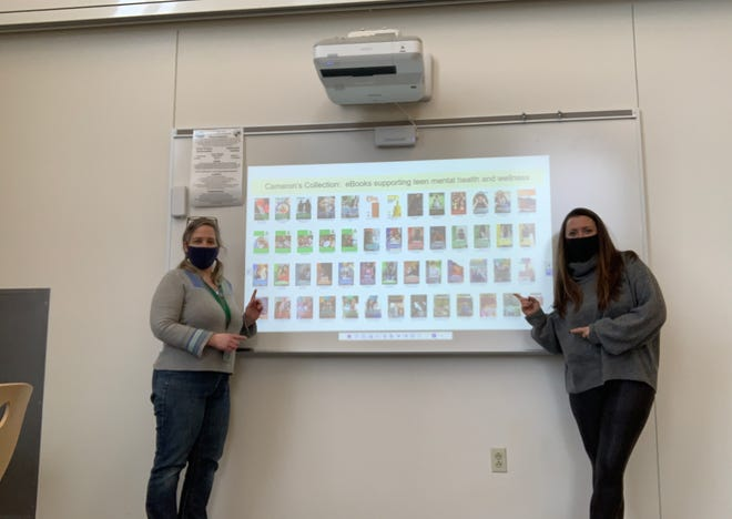 Dover High School teachers Amanda Lee and Kristin Whitworth are among the recipients of grants from the Seacoast Educational Endowment for Dover.