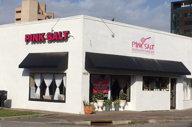Pink Salt Restaurant and Wine Bar, known for its innovative farm-to-table cuisine with a Caribbean flair, has relocated to 1430 San Marco Blvd. in San Marco in the former Vino's Pizza & Grill building near Bistro Aix.
