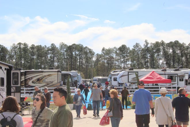 The RV Mega Show returns to the Jacksonville Equestrian Center Feb. 11-14, 2021.