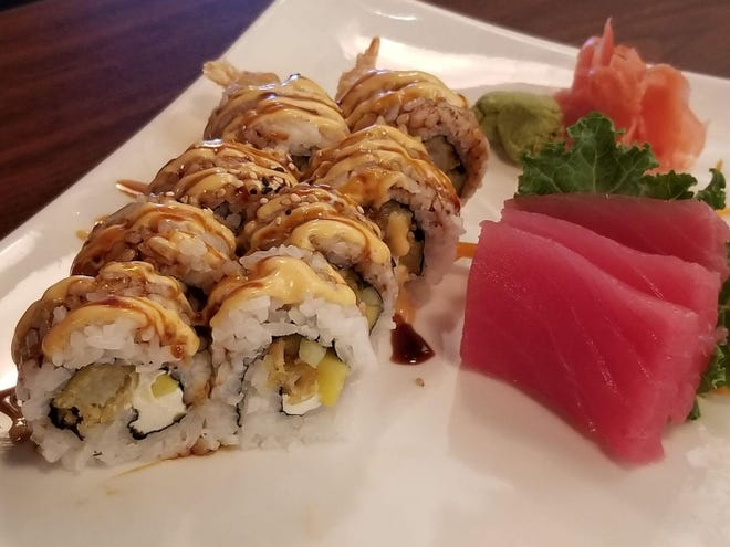 You'll find all your favorite sushi rolls at Umami, from tuna sashimi ($6) to the house special umami roll ($9).
