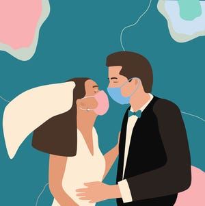 The pandemic upended the way we did everything this past year — and that goes for wedding trends, too.