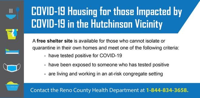 Reno County opens non-congregate shelter