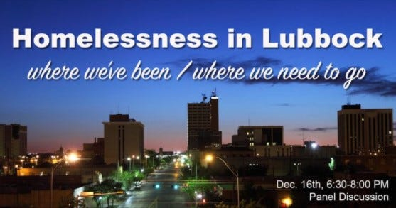 Open Door will be hosting a panel discussion Wednesday to discuss homelessness in Lubbock