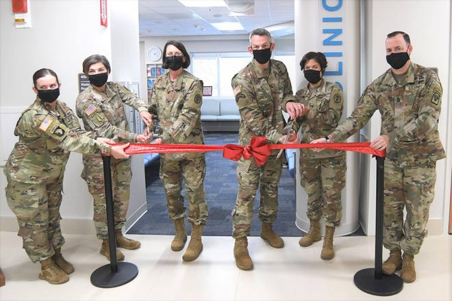 BJACH held a ribbon cutting for the Women's Clinic