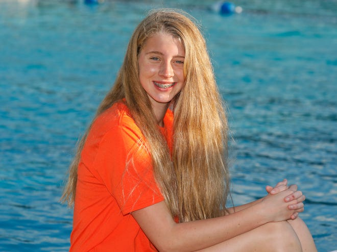 Lake Wales freshman Mary Leigh Hardman won two state titles at the Class 2A state meet in November.