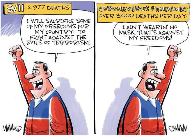 Today's editorial cartoon (Dec. 16, 2020)