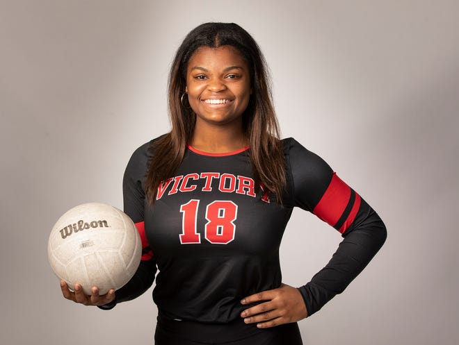 Victory Christian Damyah Joyner led the county in kills and led the Storm to the regional finals.