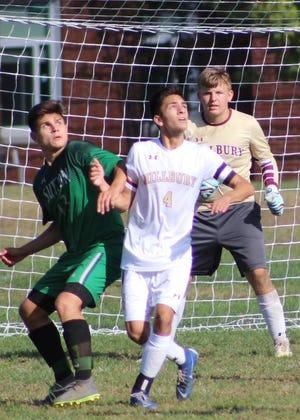 Millbury High School senior and soccer center-midfielder Anthony Wilson