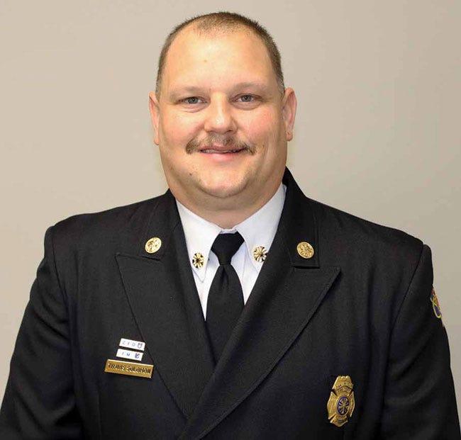 Travis Solomon, Oak Ridge Fire Department Chief