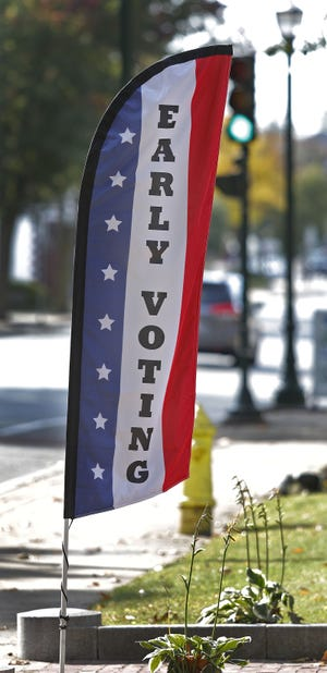 Early voting started Saturday, Oct. 17, 2020.