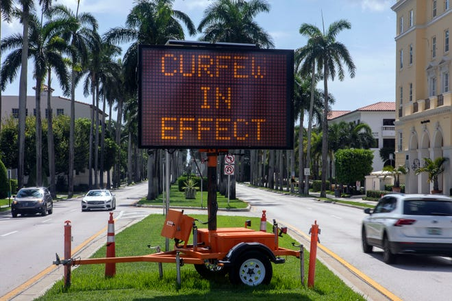 Palm Beach leaders enacted safety rules during the coronavirus pandemic, such as a townwide curfew, that legislators far away in  Tallahassee want to strip them from being able to employ in the future.
