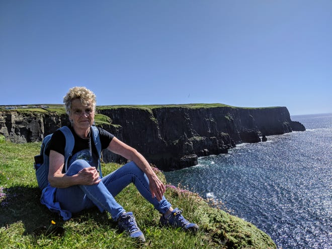 Deborah McDermott enjoyed a hike via Doolin to the northern terminus of the Cliffs of Moher one day last summer. McDermott moved from York, Maine, to Corofin, Ireland, after retiring from Seacoast Media Group.