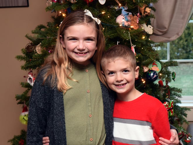 Emma and Hayden Barnes of Dover have been raising donations for the Dover Fire Toy Bank by holding virtual bake sales.