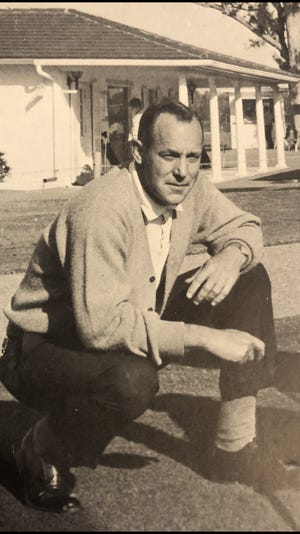 """C.H. """"Mac"""" McKinnon, shown during his days as Lake Worth High School's athletic director, died Dec. 11 after contracting COVID-19."""