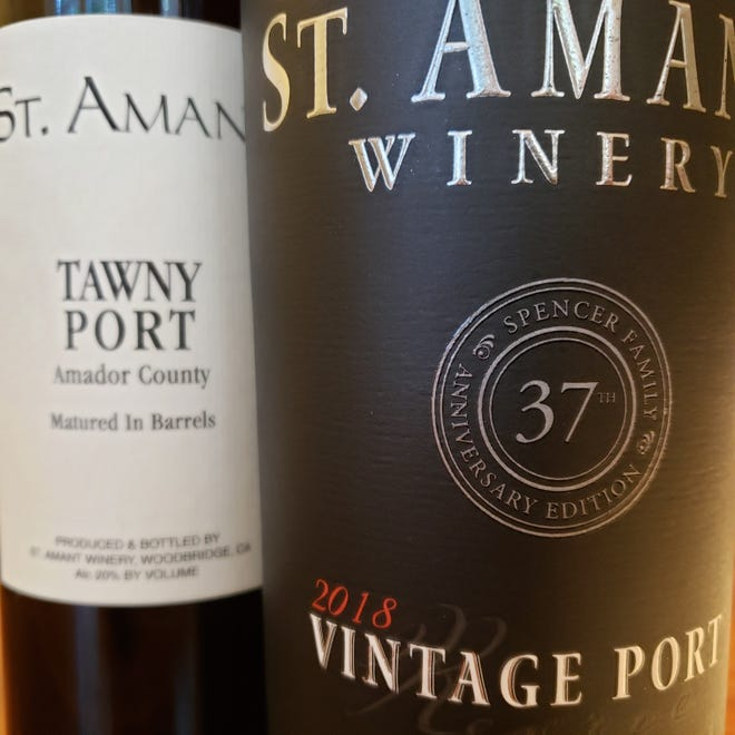 St. Amant Tawny Port and St. Amant Vintage Port