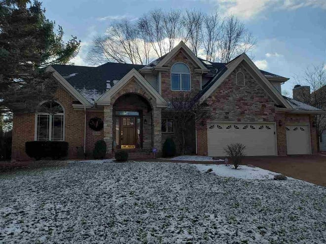 This home at 3439 Burlwood Drive in Rockford is on the market for $390,000. [PHOTO PROVIDED]