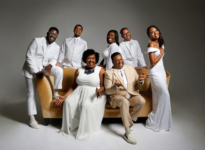 """The Westcoast Black Theatre Troupe, founded by Nate Jacobs (seated, right), is highlighted on its 20th anniversary by WEDU with the documentary """"This Light of Mine."""""""