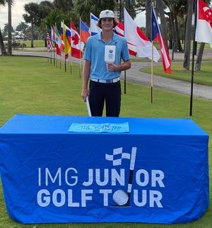 Wyatt Plattner won the IMG Academy Junior World Challenge.