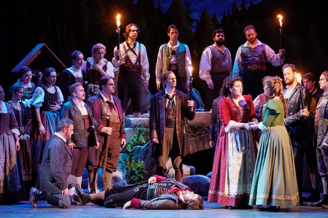 """The Sarasota was nearing the end of its 2020 winter season with performances of """"La Wally"""" and other productions when the coronavirus pandemic forced arts companies to shut down. The company plans to stage small-cast operas for its 2021 winter season."""