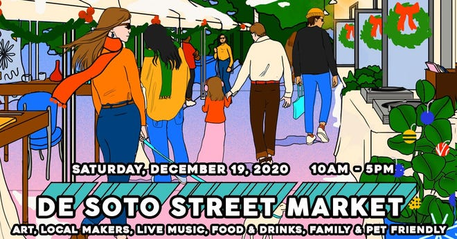 Holiday De Soto Street Market should be a fun way to support local business in our community while sipping on some heady brews.