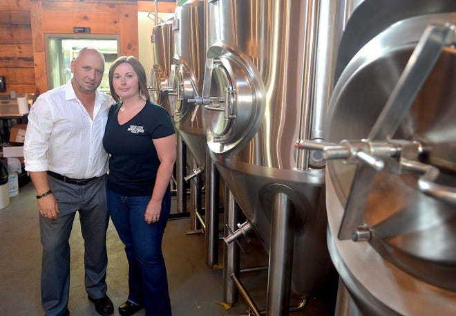 Rebecca Alberts, co-owner of These Guys Brewing in Norwich, said at a legislative forum on Tuesday that she, along with her co-owner husband Ray Alberts, haven't taken a paycheck in four months, and have been using up their personal savings to keep the brewpub going.