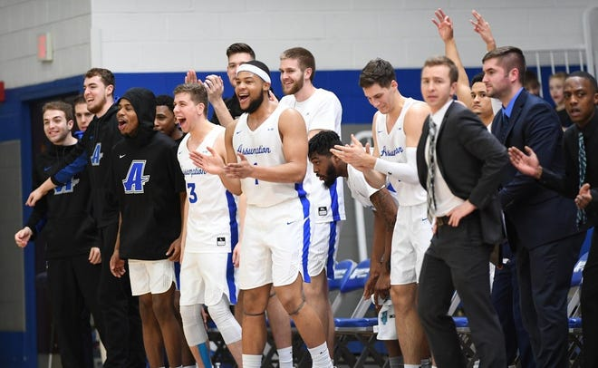 Men's basketball and six other sports at Assumption University will not play this winter after Tuesday's decision handed down by the Northeast-10 Conference.