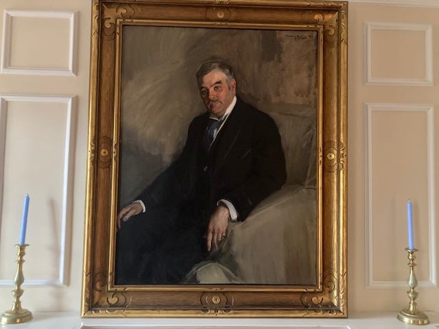 A portrait of W.W. Fuller hangs in First Presbyterian Church on Ann Street in downtown Fayetteville.