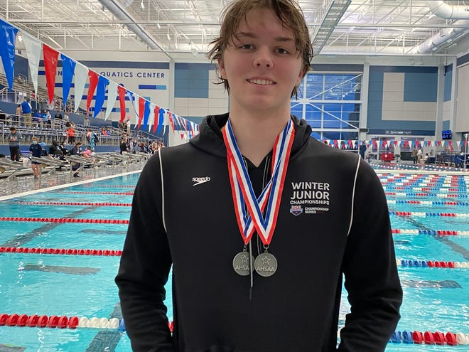 Tuscaloosa County High School's Josh Cobia finished second in both the 100 and 50-yard freestyle events at the AHSAA Class 6A-7A state championships in Huntsville this month.