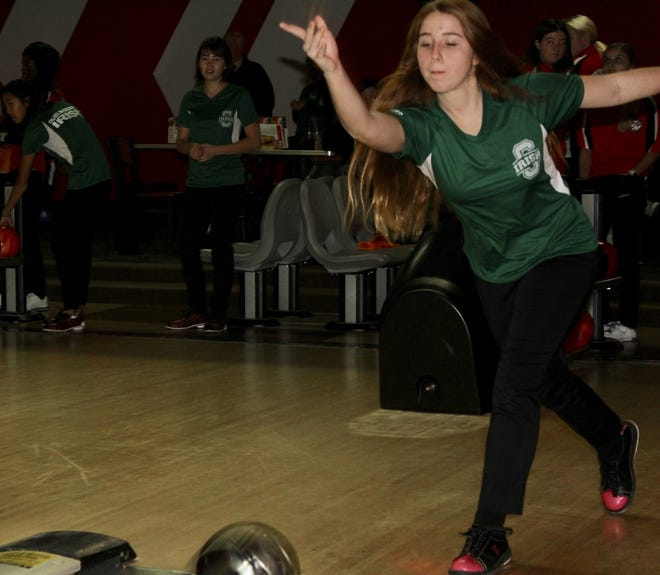 Junior Kayla Butcher is one of the top returnees for the Scioto bowling program, which is in its second season.