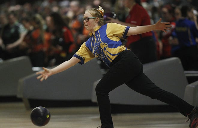 Junior Tori Richardson is one of the top returnees for the Gahanna Lincoln girls bowling team, which went 16-0 last winter and captured its second Division I state championship in three seasons.